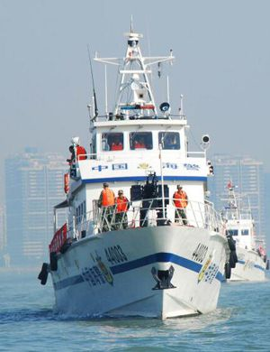 绕行日本列岛:日确认中国海警船3天2进日本领海