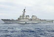 美军舰五次闯中国南海岛礁:最近又丢一名水兵