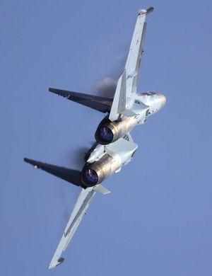 中国苏35战机已交付第二批!机腹高清细节曝光
