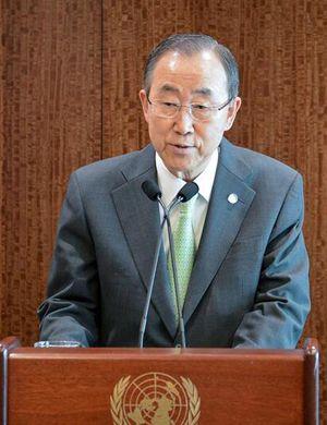 中方回应日本对潘基文无理取闹:读好联合国宪章
