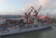 055万吨大驱建造视频曝光:112部垂发 工艺精湛