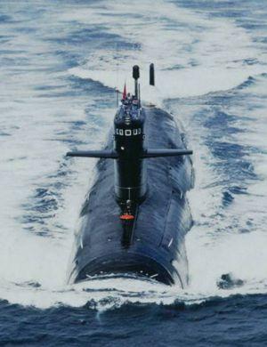 中国093B核潜艇疑入役 艇体加长6米可发射巡航导弹