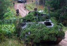吓唬俄罗斯人?英国士兵在爱沙尼亚参加军演