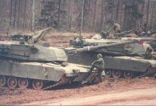 对抗T系列!1986年驻扎西德的艾布拉姆斯坦克