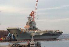 国产航母新照曝光 安装相控阵雷达或于近期海试