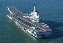 辽宁舰接装训练指挥员任装备方队领队 曾飞5机型