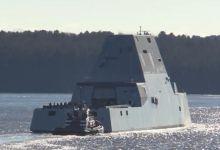 美国最强战舰试航 重病缠身却号称比055领先一代