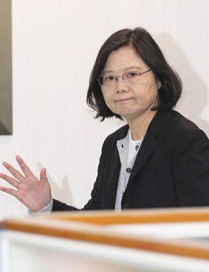 台湾新党发言人:蔡英文抓人是不是要配合大陆武统