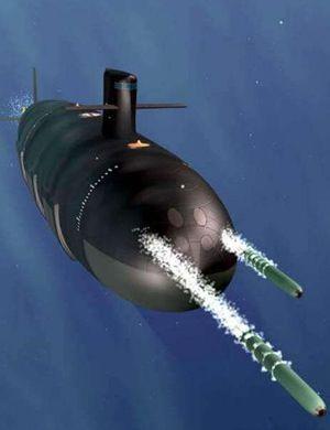中国首款核潜艇罕见影像曝光 一项指标曾领先世界
