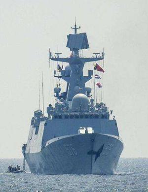 新年后又下饺子!我军最新一艘054A日照舰服役