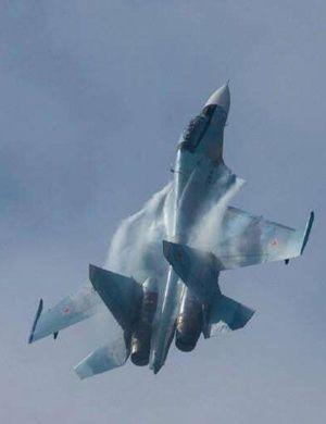 我兄弟在中国服役!优雅的俄罗斯勇士飞行队苏30SM