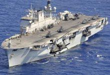 大英帝国药丸呐!英国航母测试舰载机竟凑不够数