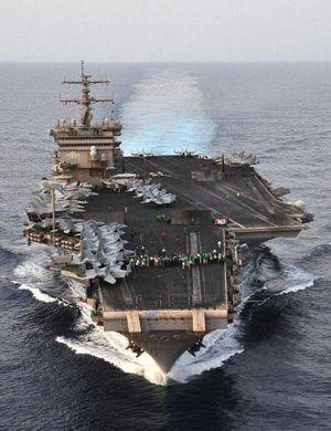 中国核航母何时上线?美国最先进福特级航母内部细节