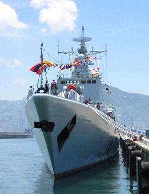薪火相传!中国海军新老