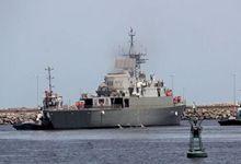 撞船技能超美军!伊朗海军被吹搁浅的驱逐舰沉没