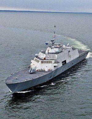 人家也在下饺子!美军第6艘独立级濒海舰服役