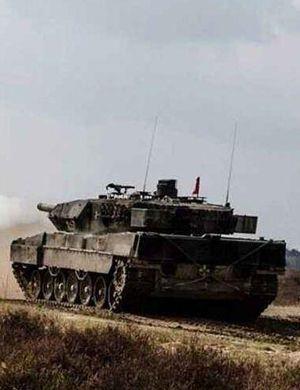 被击爆全程动图曝光!土耳其豹2A4坦克被库尔德打爆