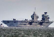 舱内发两次洪水后 英国伊丽莎白号航母终于再次出航