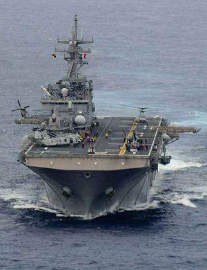 还想被打爆?美军第10艘先锋级快速运输舰下水