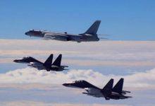 再去日本转一圈!我东海航空兵轰6K机群训练气势十足