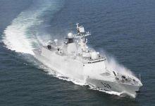 中国东海舰队实战化训练:弹幕摧毁新型高速靶机