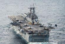 质检不合格!美日两栖舰东海并行日舰冒浓烟污染环境