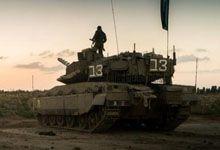 最佳背景板!以色列梅卡瓦坦克与士兵合影很上镜