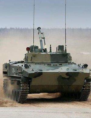 BMD2战车飙到飞起!俄军举