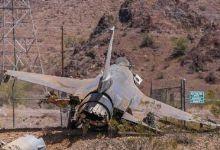 断头之灾!美空军又一架F16降落时失事座舱都摔掉