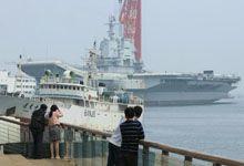 全国人民等你海试!中国首艘国产航母再曝夜间美照