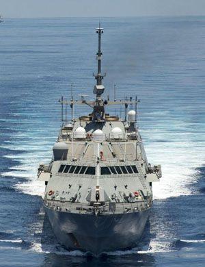 别忘了装垂发!我海警新船跟054A一个模子刻出来的