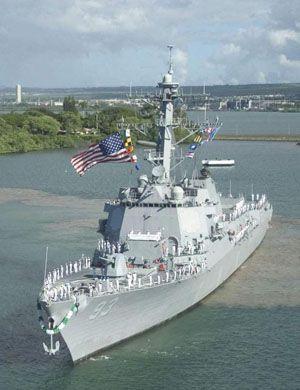米畜快投降吧!美海军伯克舰被黑武士与暴风兵
