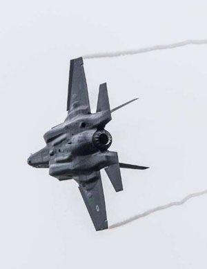 如入无人之境!以色列F-35