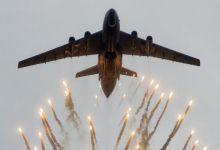 暴力美学经典款!俄空军运输机空中