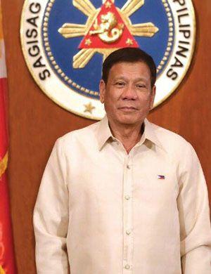 菲律宾总统:和中国开战只