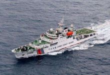中国海警巡逻钓鱼岛遭日方阻挠 双方发生接触