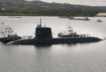 没被我侦察船围观不开心?日海自苍龙级潜艇现身关岛