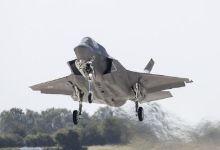 老佛爷很欣慰!英国新到货F35B战