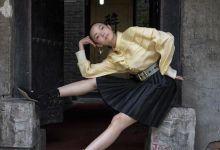 雎晓雯再登《ELLE》封面 精灵超模