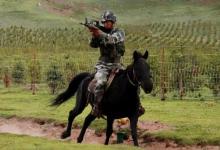 骑兵进攻!解放军骑兵海拔4200米高原大练兵