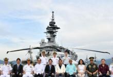 又去挑拨!日本战舰抵达菲律宾 杜特尔特登舰