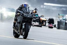 土豪的速度与激情!F16与跑车、摩托谁是竞速之王