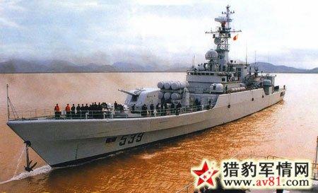 """""""江卫""""级Ⅰ护卫舰:中国至关重要的通用护卫舰"""