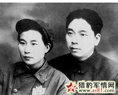 吴忠与夫人田涛