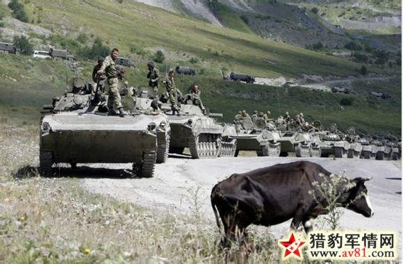 2008年俄格战争:俄军五天摧垮格鲁吉亚军事力量