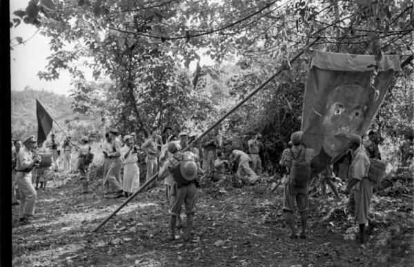 1953年国民党残军撤离缅甸