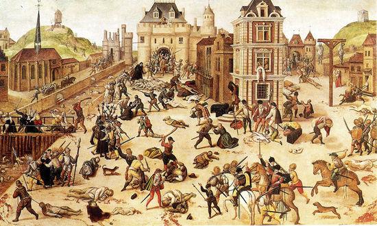 法国古代历史上最黑暗的一天:圣巴托罗缪大屠杀