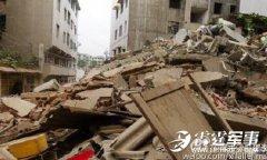 夫妇发现楼房开裂喊出全部邻居 半小时后7层楼坍塌