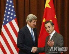 美怨克里没让中国在南海让步