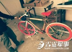竹子自行车走红 DIY超个性绿色概念车火了!